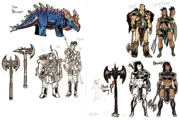 Savage Hearts Dark Horse Comics