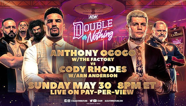AEW Double or Nothing - Anthony Ogogo vs. Cody Rhodes