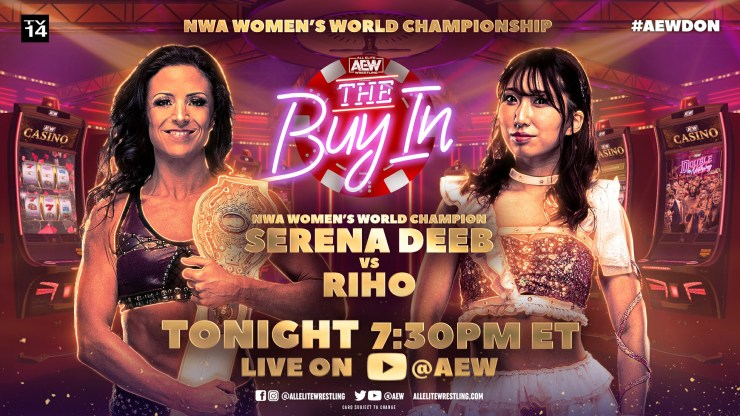 AEW Double or Nothing - Riho vs. Serena Deeb