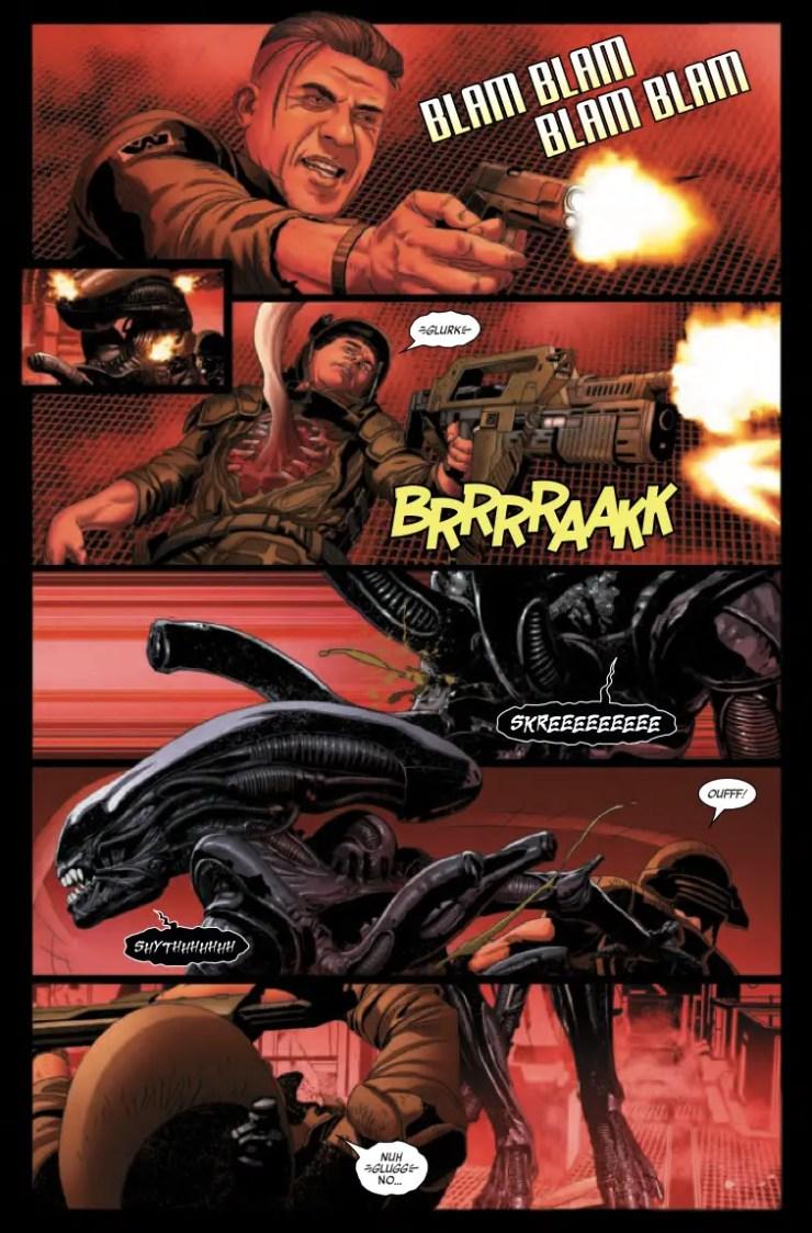Marvel Preview: Alien #3