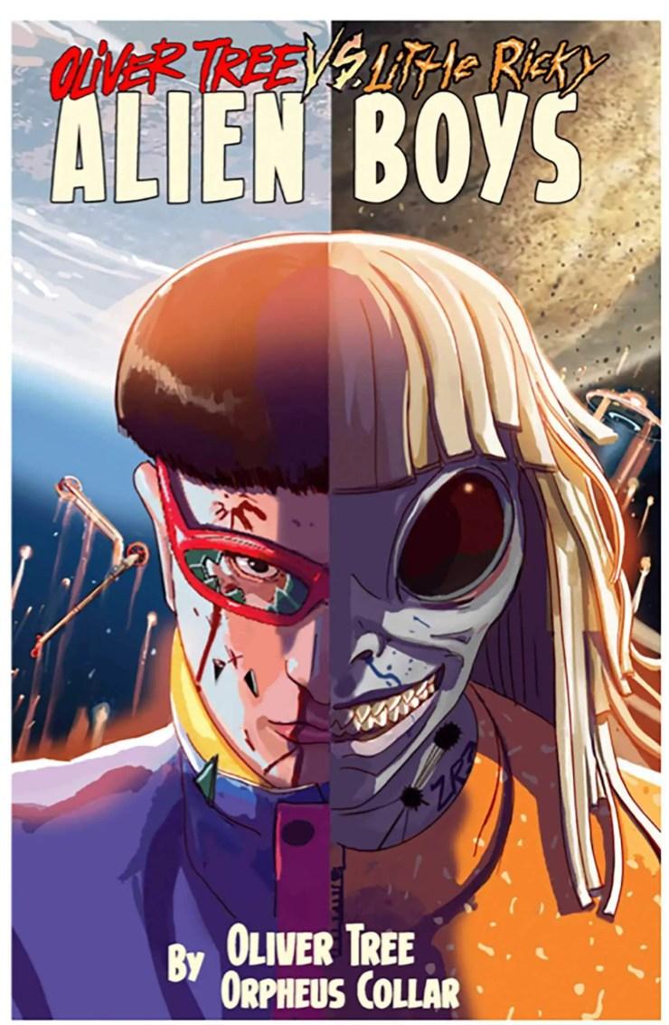 ' Oliver Tree Vs. Litte Ricky: Alien Boys' preview