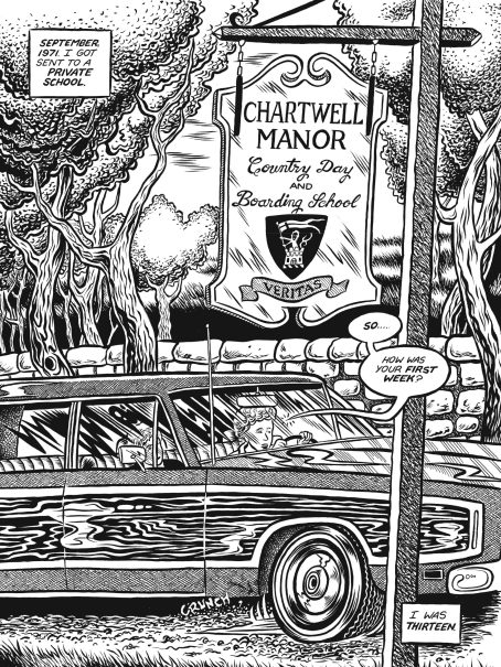 Glenn Head talks his hugely personal graphic memoir 'Chartwell Manor'
