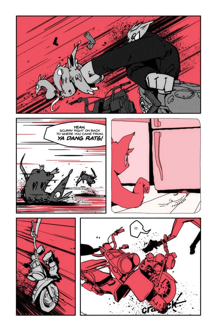 EXCLUSIVE Happy Tank Comics Preview: Cinnamon #1