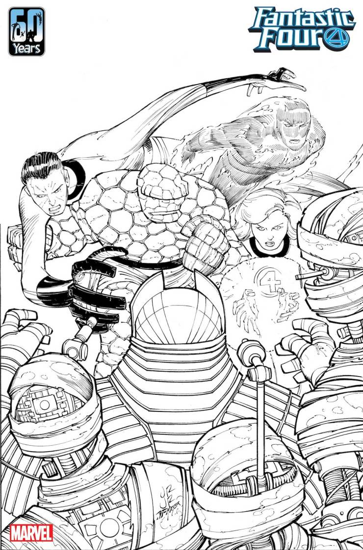 John Romita Jr. and Dan Slott teaming up for 'Fantastic Four' 60th anniversary issue