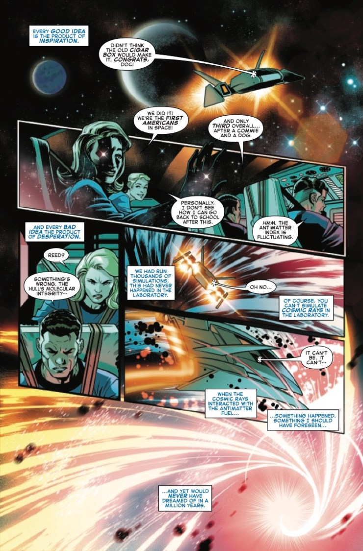 'Fantastic Four: Life Story' #1 is a charming, flawed look at the origin of Marvel's First Family