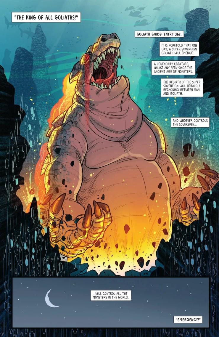 ComiXology Originals Preview: Goliath Girls