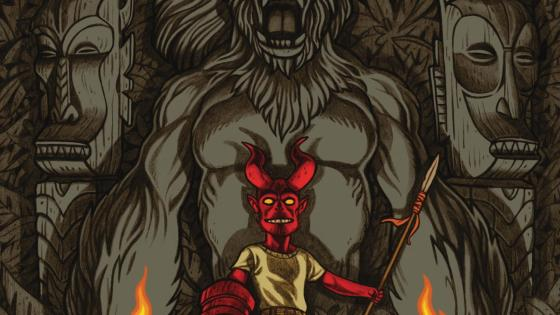 EXCLUSIVE Dark Horse Preview: Young Hellboy: The Hidden Land #4