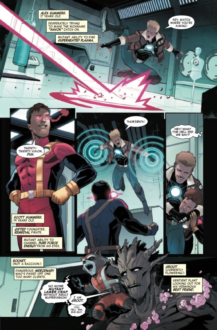 Marvel Preview: Heroes Reborn: Hyperion & The Imperial Squad #1