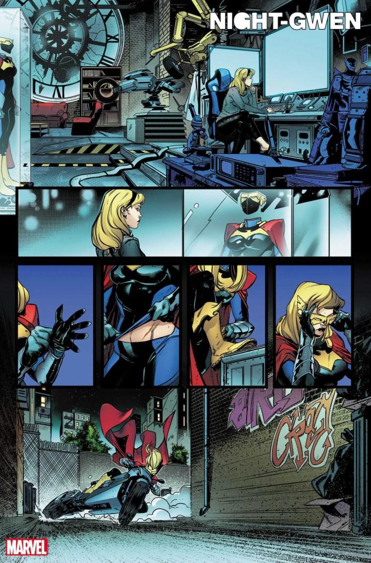 Marvel First Look: Heroes Reborn: Night-Gwen