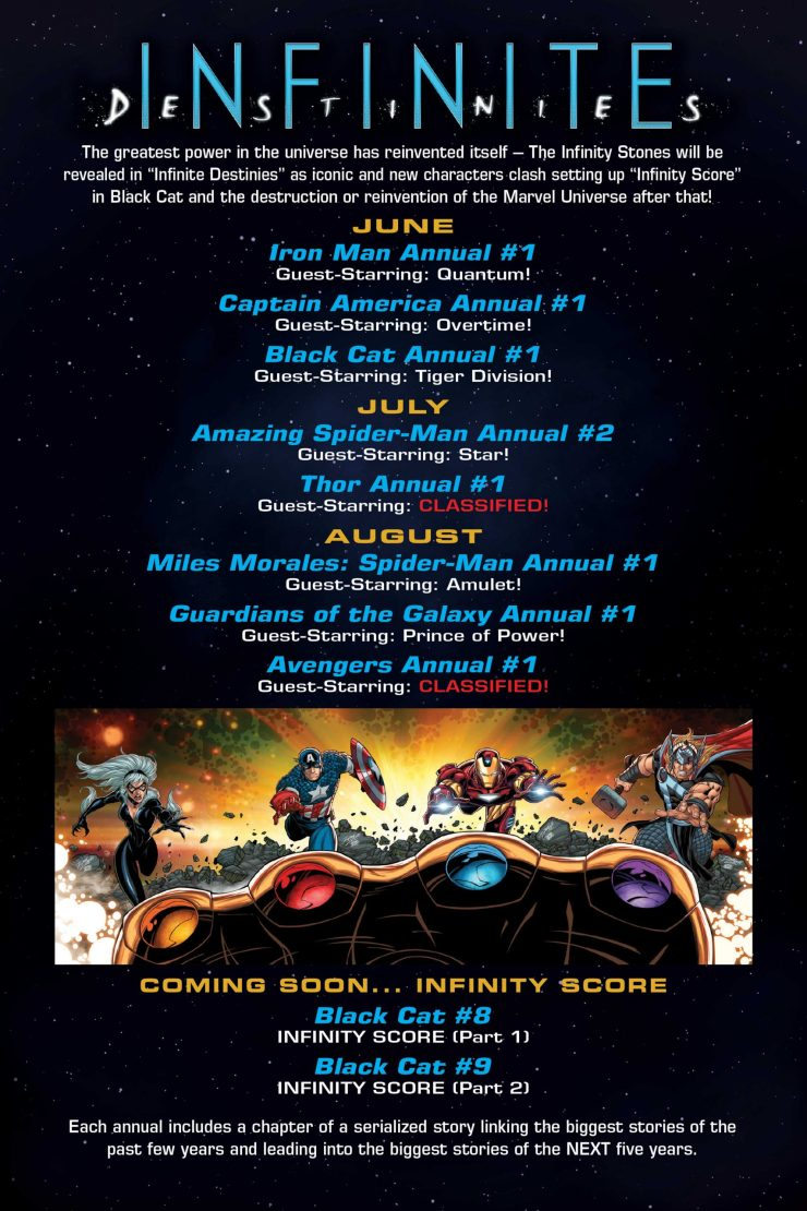Marvel teases the conclusion to 'Infinite Destinies' out August 2021