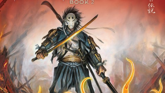 Exclusive Humanoids Preview: The Mask of Fudo Vol. 3: Fire: Book 2