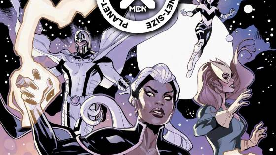 Marvel reveals Omega-Level mutant variant covers and interior art for 'Planet-Size X-Men'
