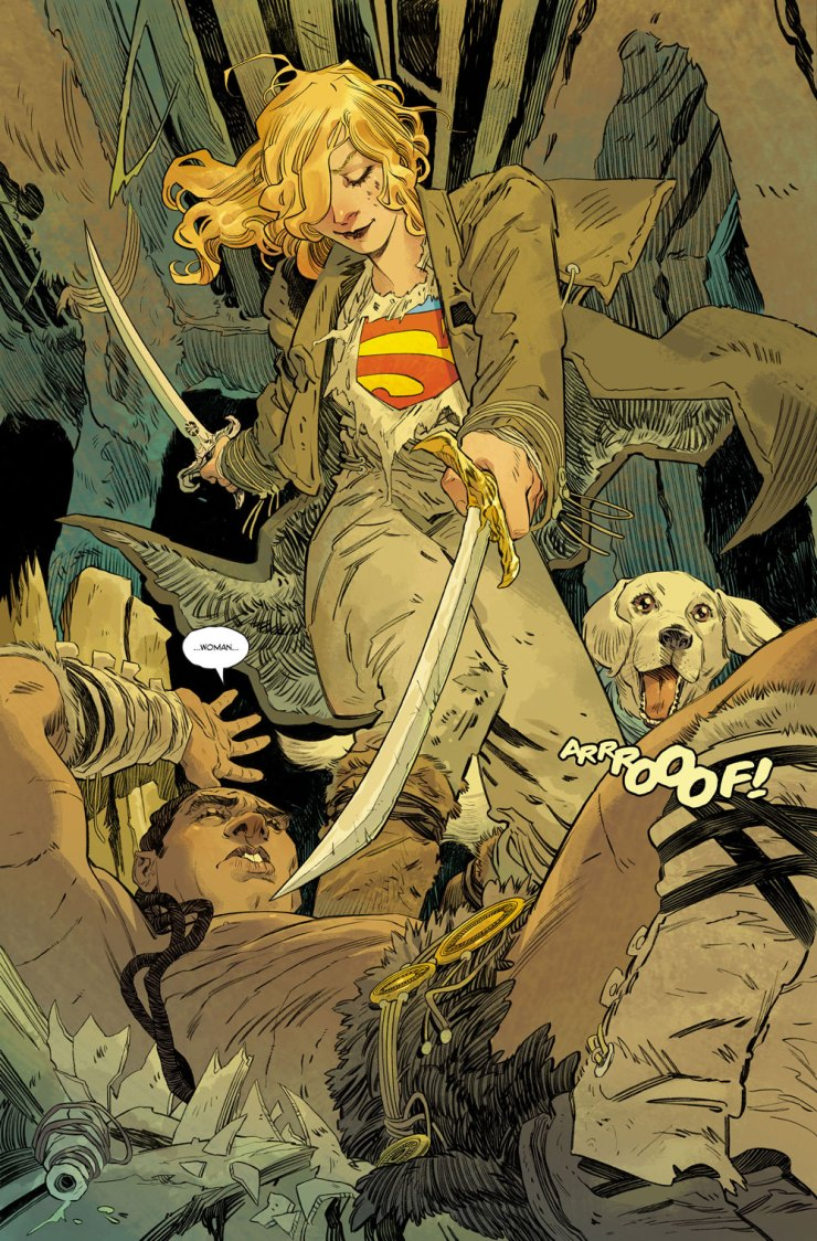 DC Preview: Supergirl: Woman of Tomorrow #1