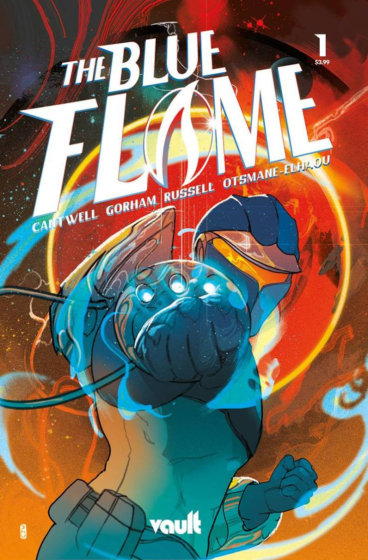 EXCLUSIVE Vault Preview: The Blue Flame #1