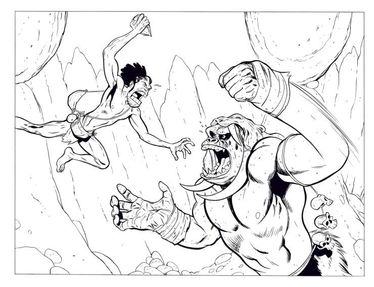 Jeff Smith's new graphic novel to 'Tuki' to debut on Kickstarter May 4