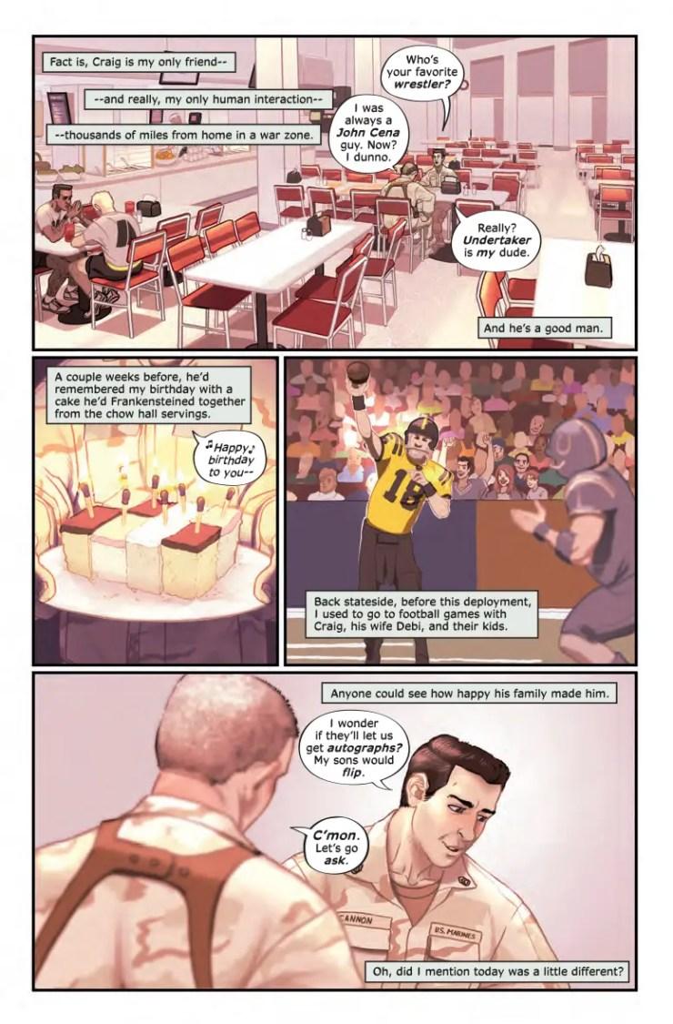 Z2 Comics Preview: True War Stories - 'Best Day Worst Day'