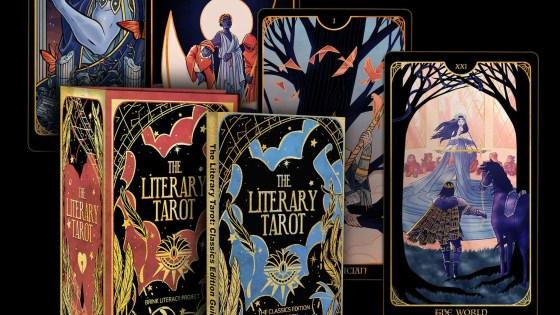 Dani Hedlund The Literacy Tarot Kickstarter Bink Literacy Project