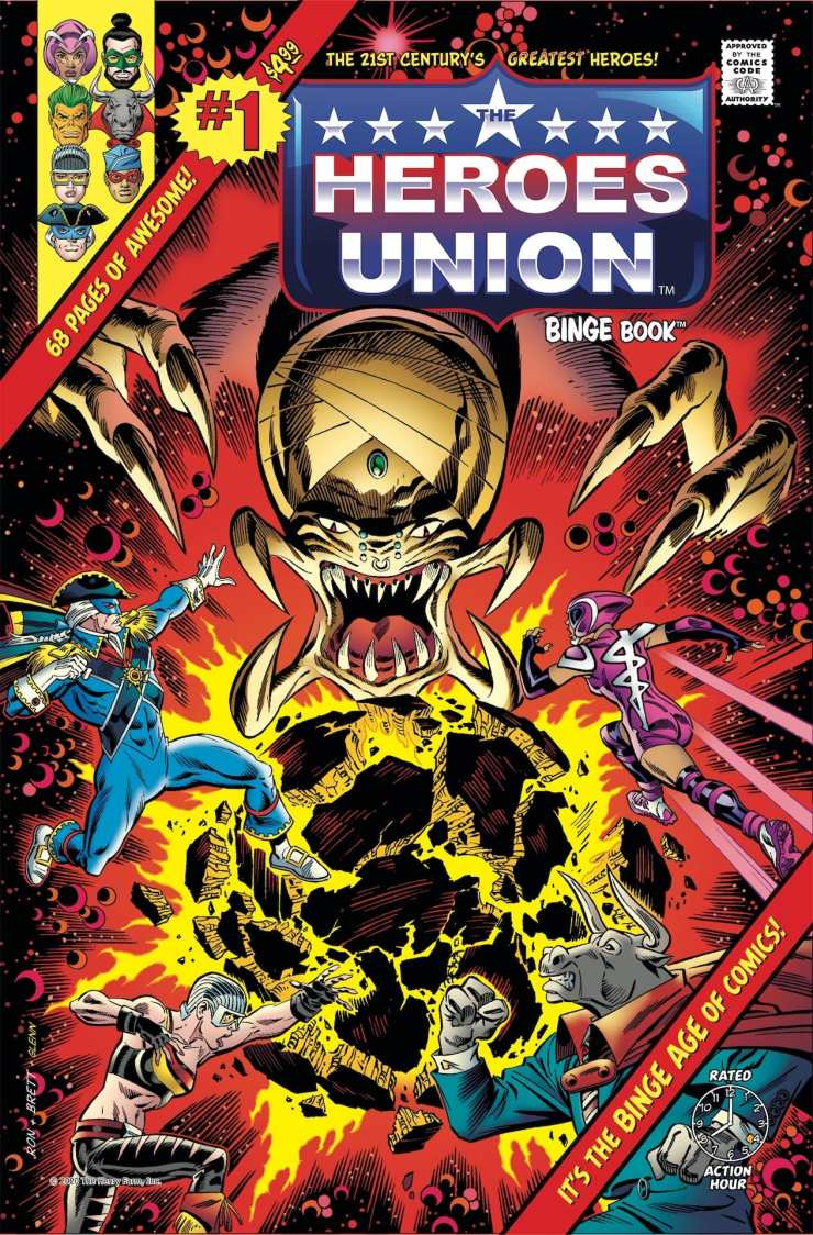 'The Heroes Union' #1 coming August 2021 from Roger Stern, Ron Frenz, and Sal Buscema