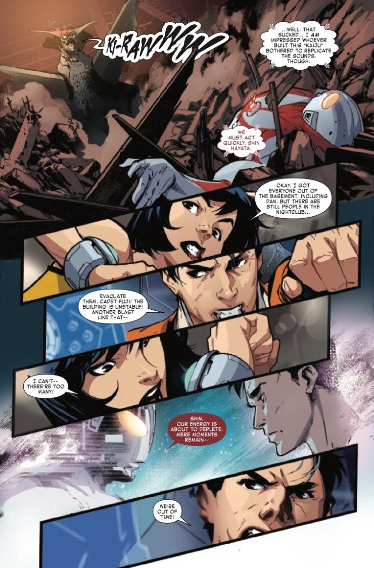 Marvel Preview: The Trials Of Ultraman #3