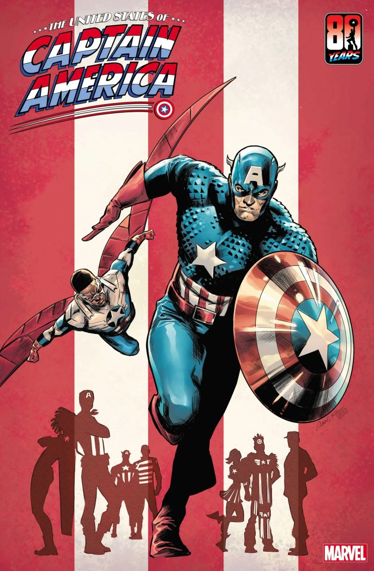 Carmen Carnero's 'The United States of Captain America' #1 cover