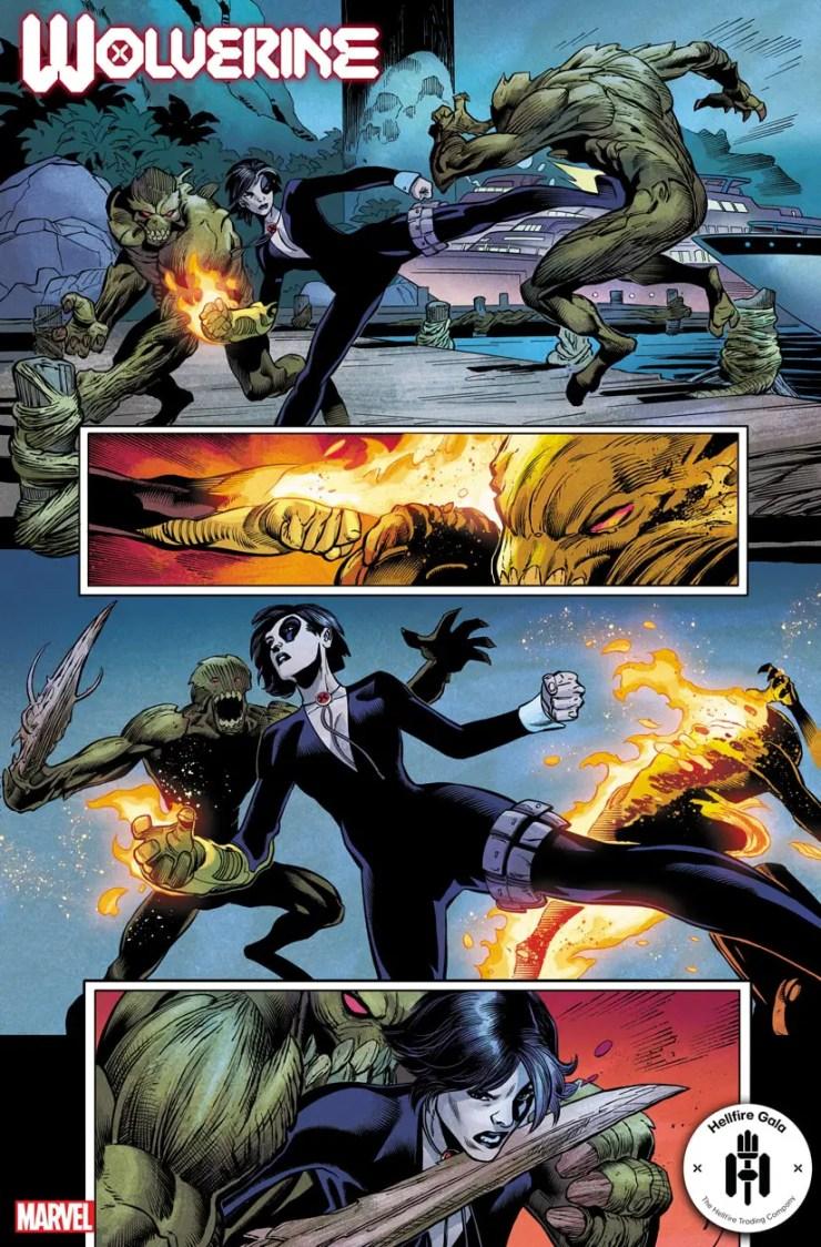 Marvel First Look: Wolverine #13