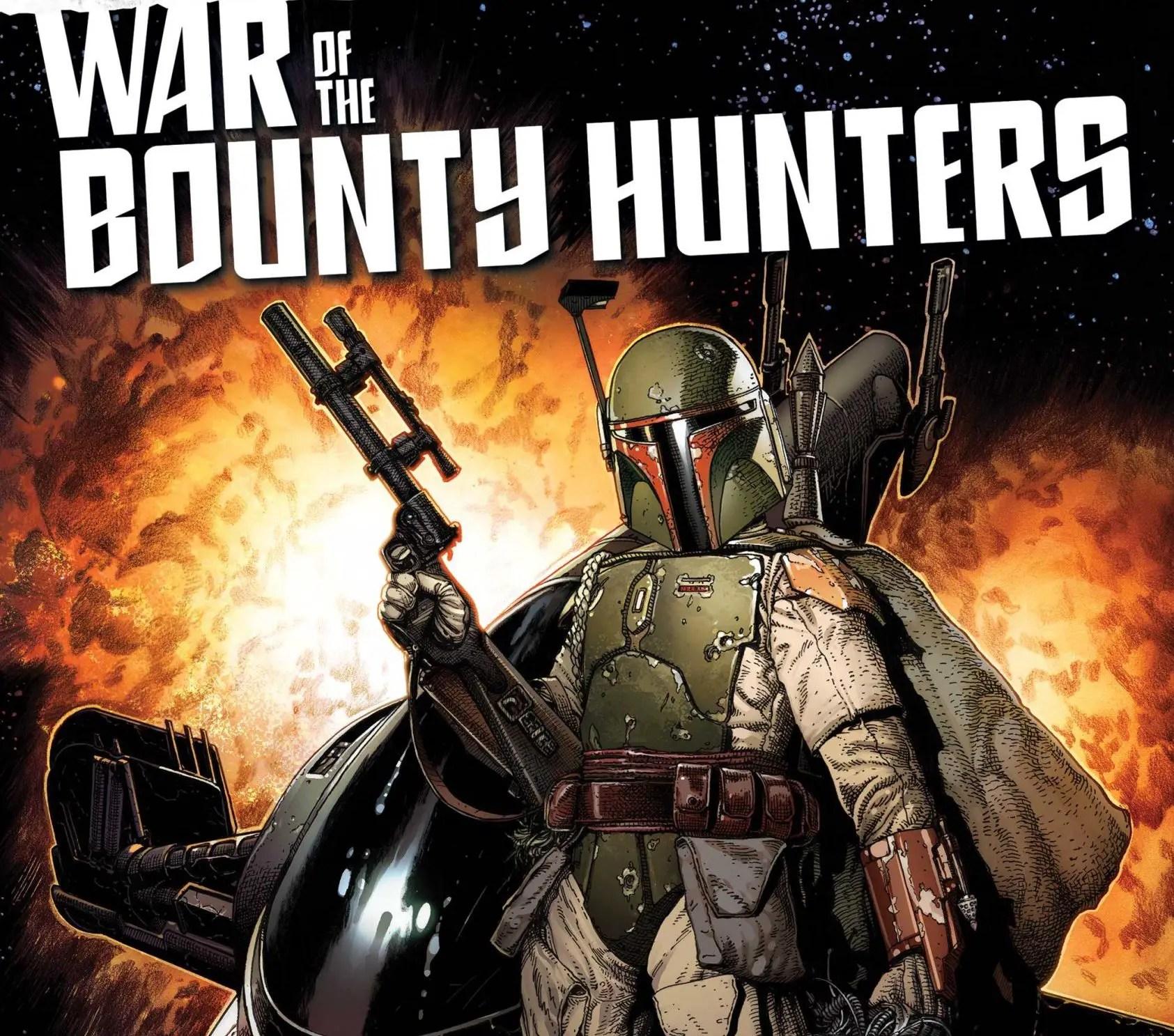 'Star Wars: War of the Bounty Hunters' #1 is a fandom-friendly story