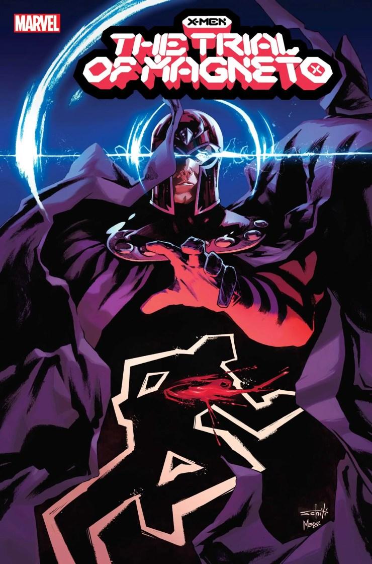 Marvel unveils five-part series 'X-Men: The Trial of Magneto'