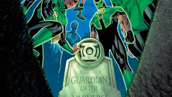'Green Lantern' #2 brings a huge status quo shift for the Corps