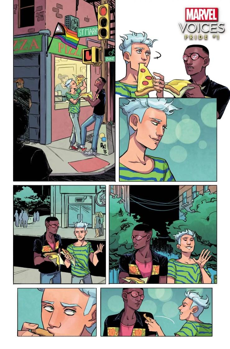 Marvel Comics unveils 'Marvel's Voices: Pride' #1 preview and story details