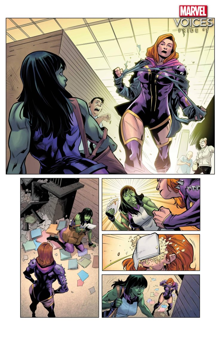 Marvel's Voices: Pride #1 preview