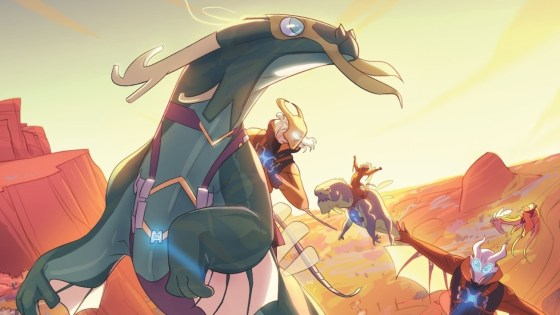 Megan Huang discusses building an inventive fantasy series in 'Rangers of the Divide'