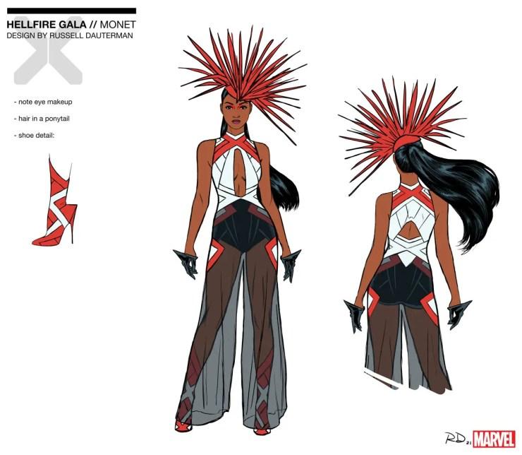 X-Men Monday #107 - Russell Dauterman Talks Hellfire Gala Designs, Mutant Fashion and More
