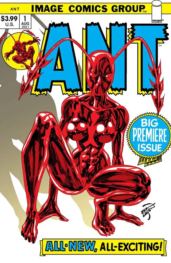 Erik Larsen launching new series 'Ant' August 25th