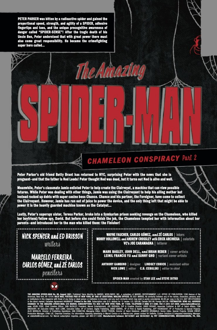 Marvel Preview: Amazing Spider-Man #68