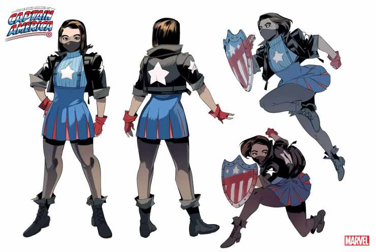 Marvel reveals new Captain America Ari Agbayani for 'The United States of Captain America' #4