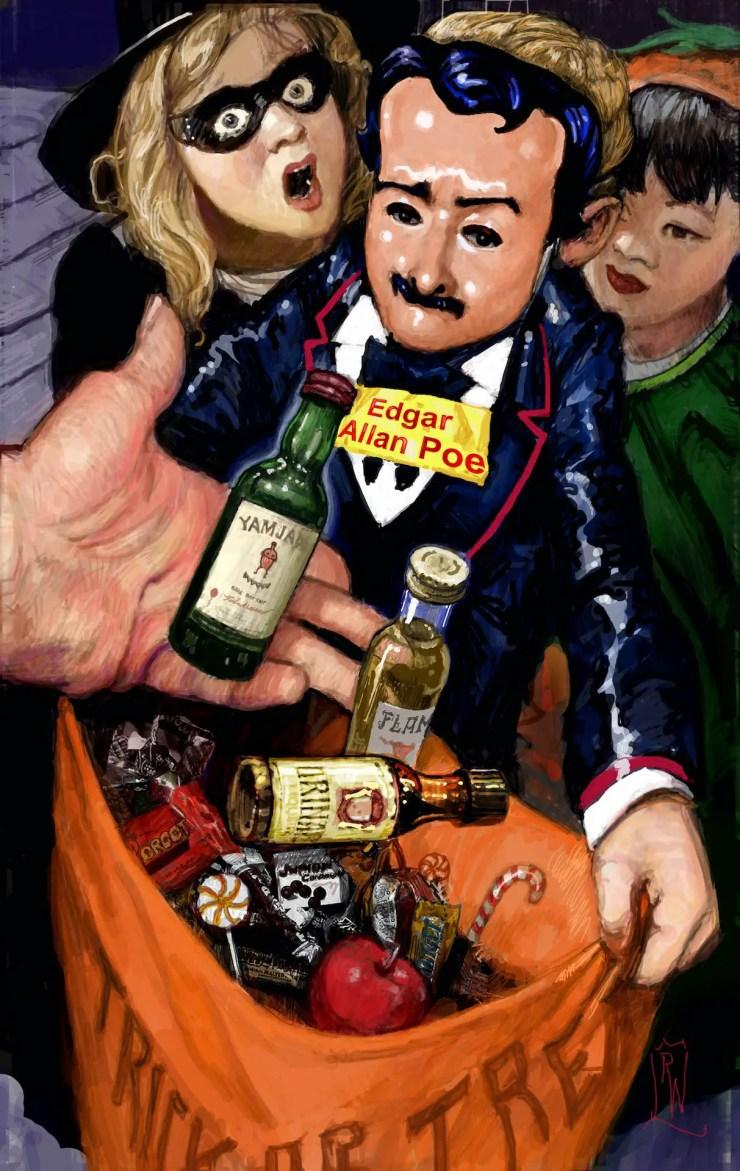Edgar Allan Poe Death EXCLUSIVE AHOY Comics October 2021 solicitations