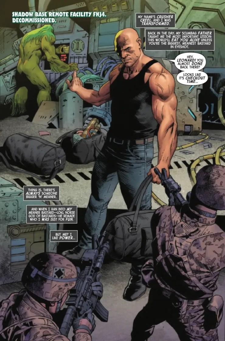 Marvel Preview: Gamma Flight #1