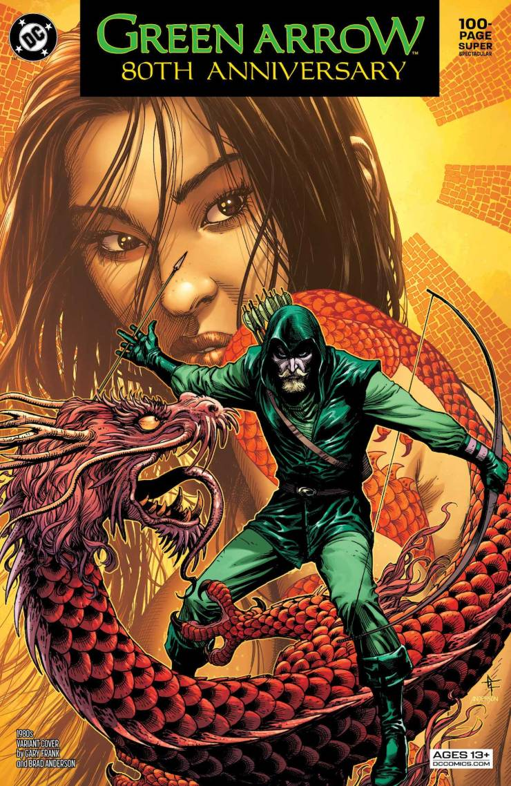 DC Preview: Green Arrow 80th Anniversary 100-Page Super Spectacular #1