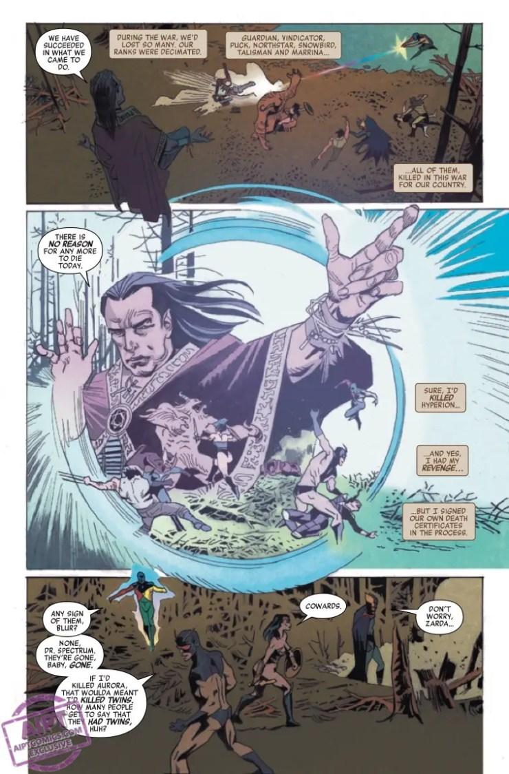 Marvel Preview: Heroes Reborn: Weapon X & Final Flight #1