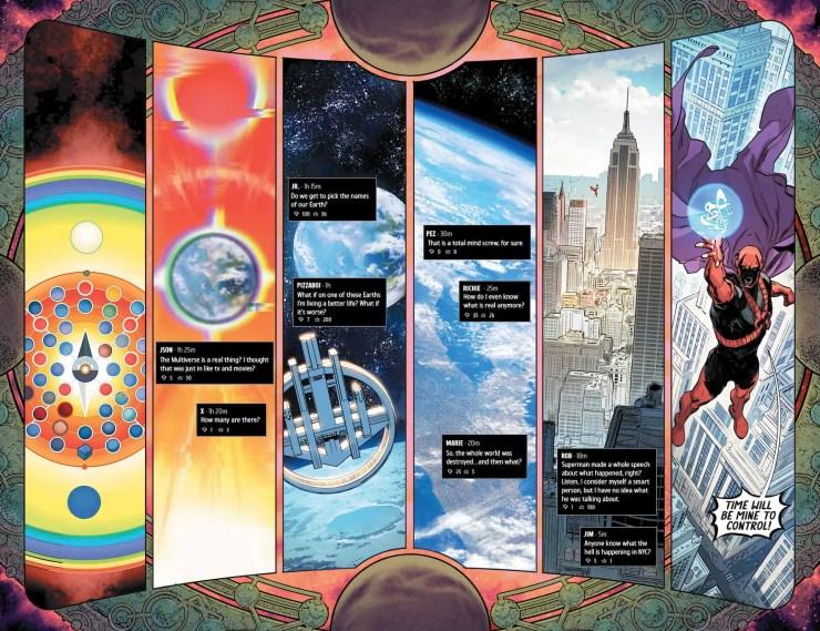 DC Preview: Infinite Frontier #1