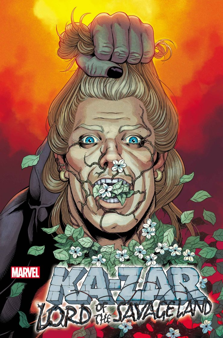 Marvel launching limited series 'Ka-Zar: Lord of the Savage Land' this September