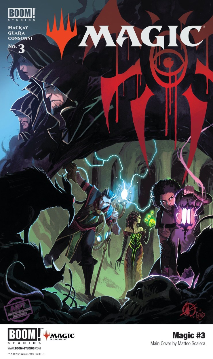 EXCLUSIVE BOOM! Preview: Magic #3