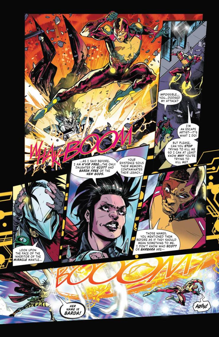 DC Preview: Mister Miracle #2: The Source of Freedom
