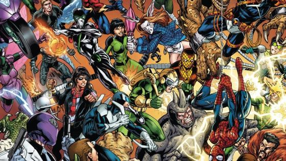 Marvel reveals new wraparound Mark Bagley 'Sinister War' #1 cover