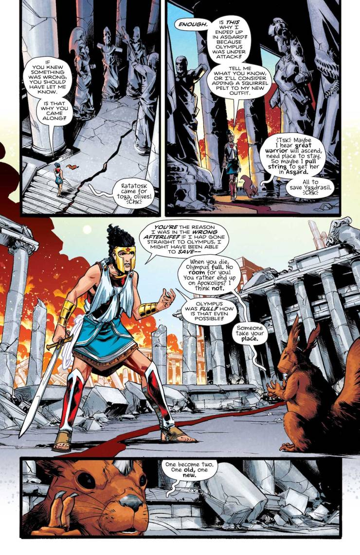 DC Preview: Wonder Woman #774
