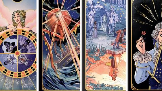 The Literary Tarot Kickstarter adds Scott Snyder, Holly Black, Terry Brooks, Stephen Fry, and more