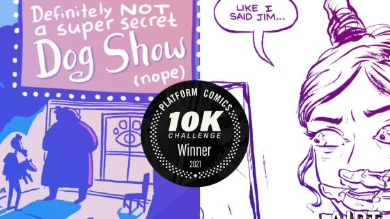 'Platform Comics 2021 10K Challenge' winners review