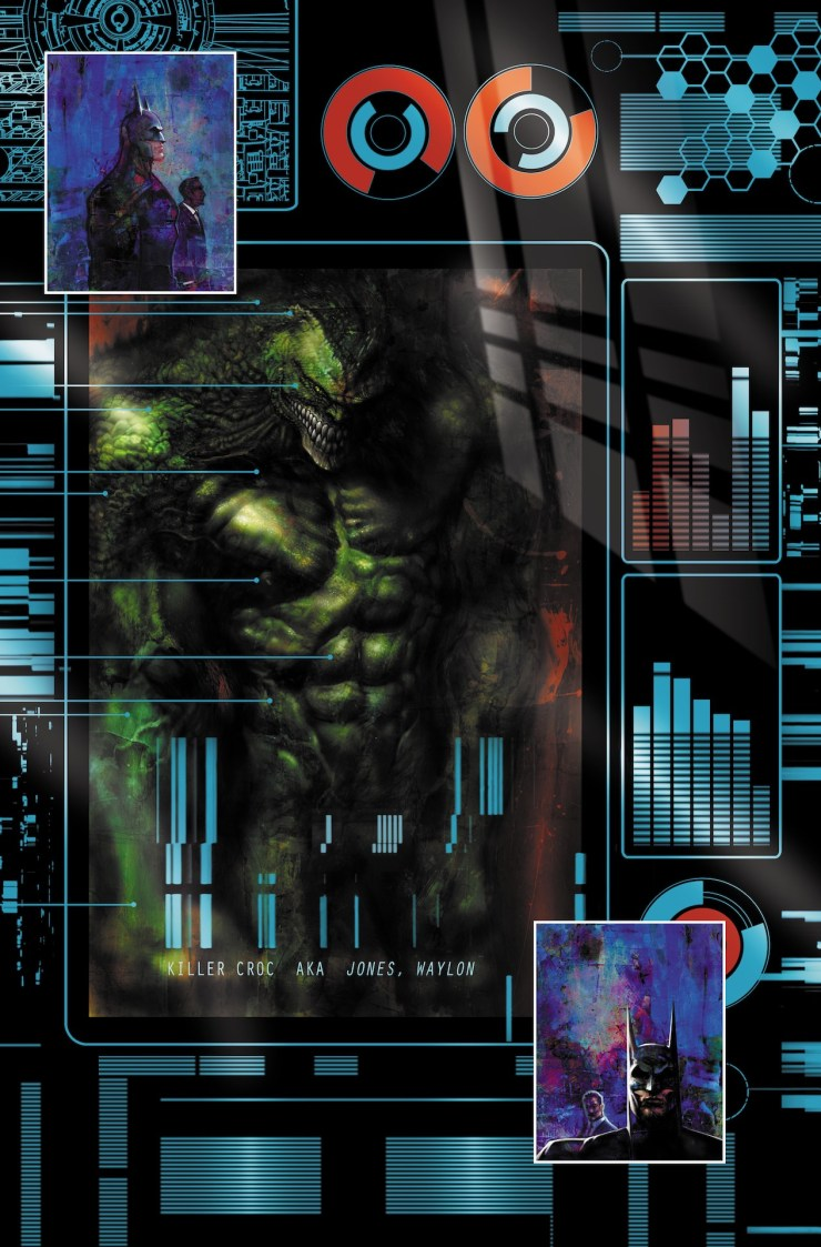 EXCLUSIVE DC Preview: Batman: Reptilian #3