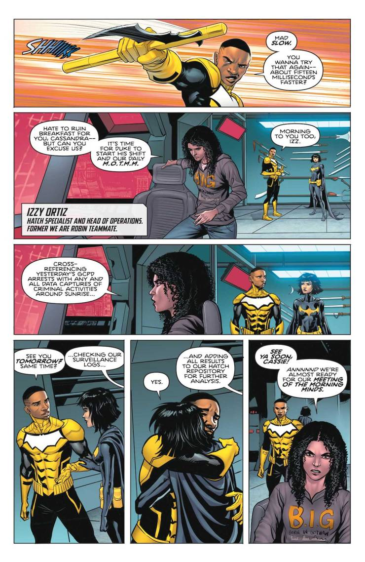 DC Preview: Batman Secret Files: The Signal #1