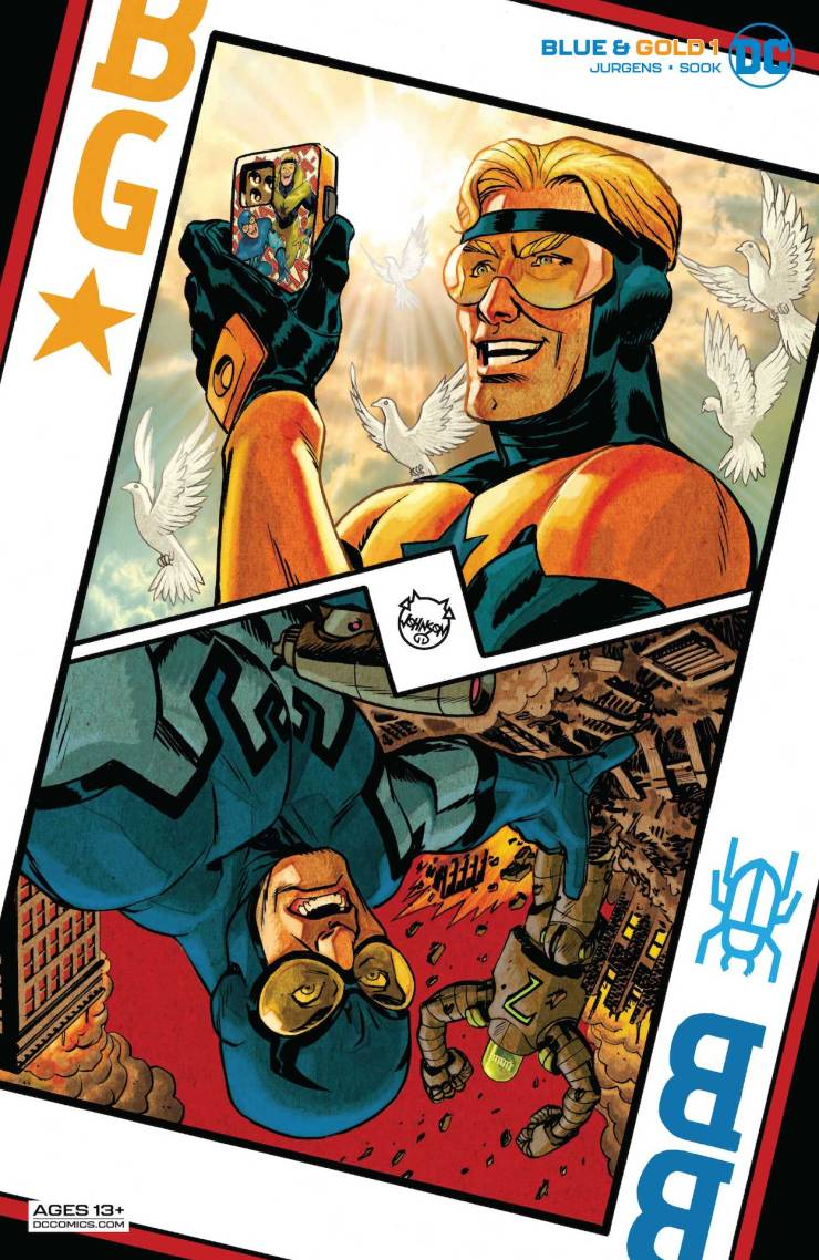 DC Preview: Blue & Gold #1